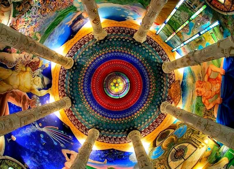 роспись залов храма