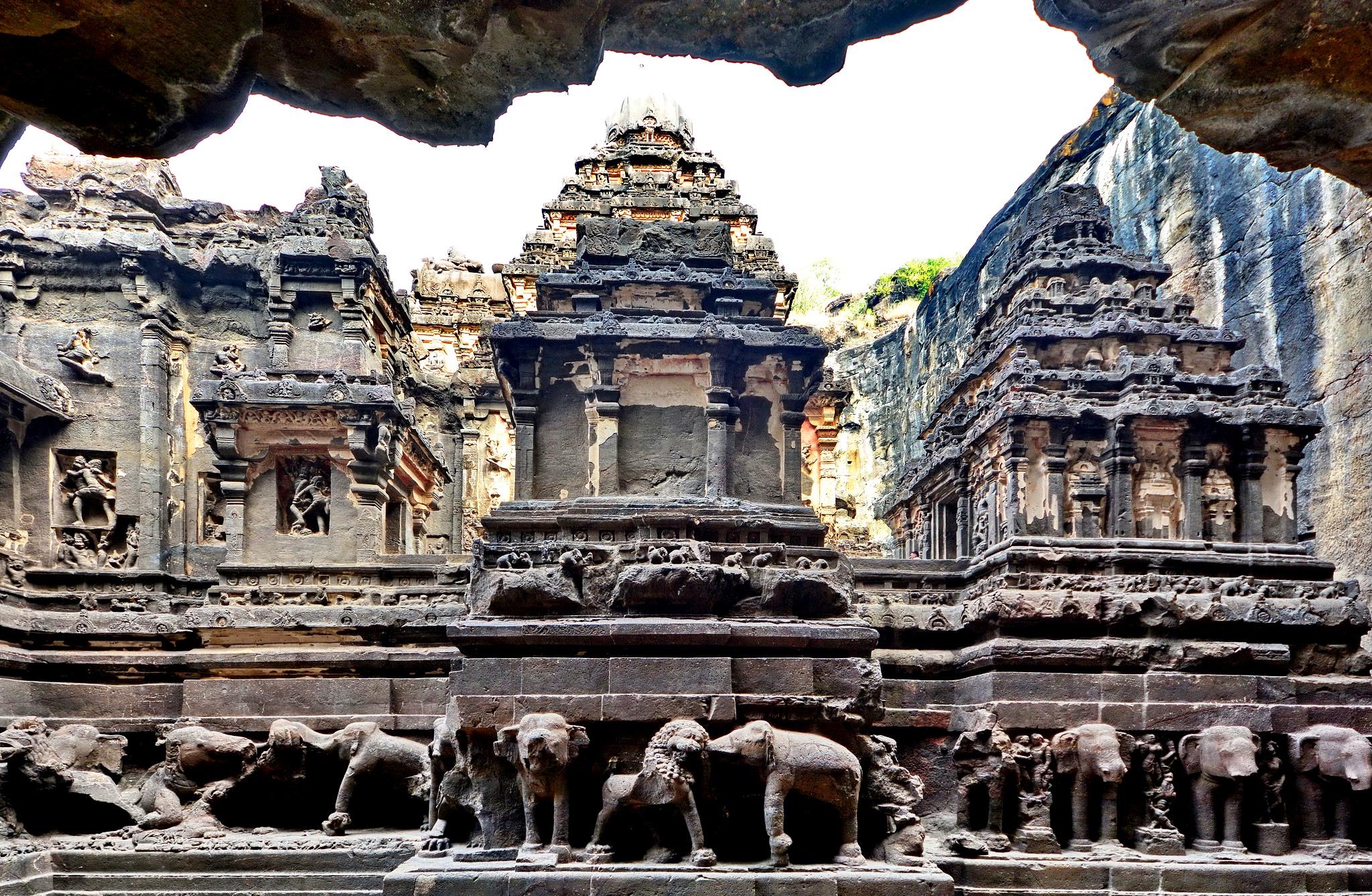 архитектура храма кайлаша