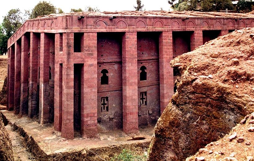 самай большой храм лалибелы