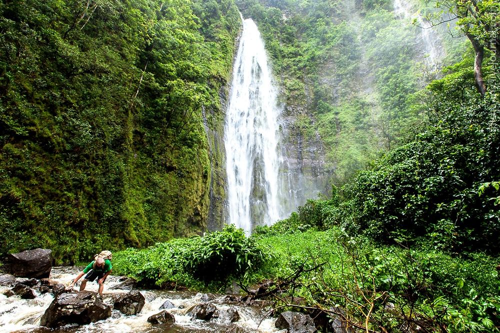 водопад халеакалы