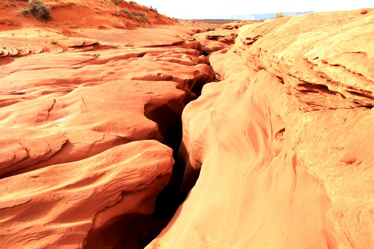 вид на каньон Антилопы