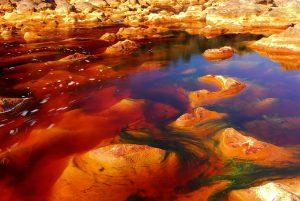инопланетный пейзаж рио тинто
