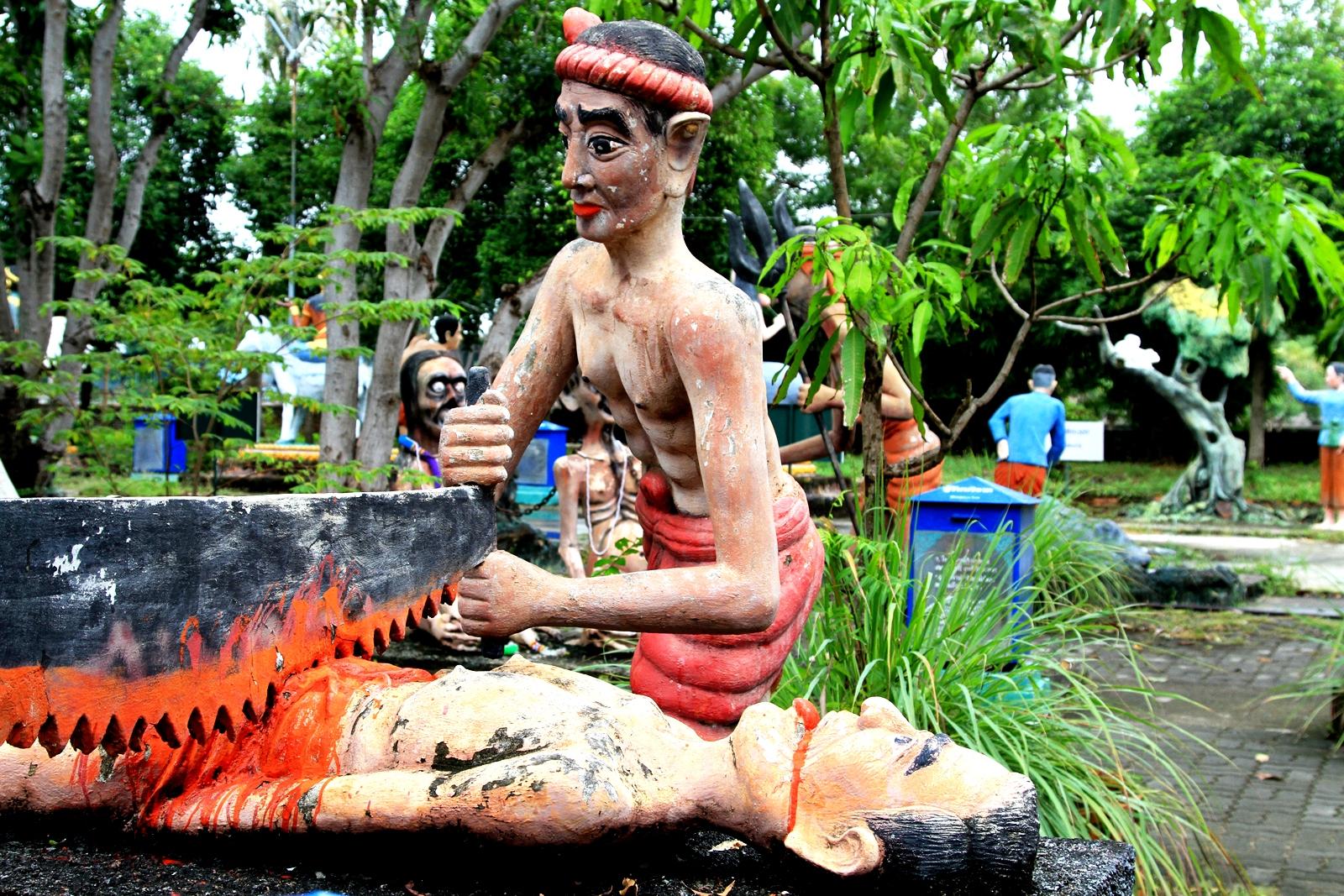 фигуры в тайском парке