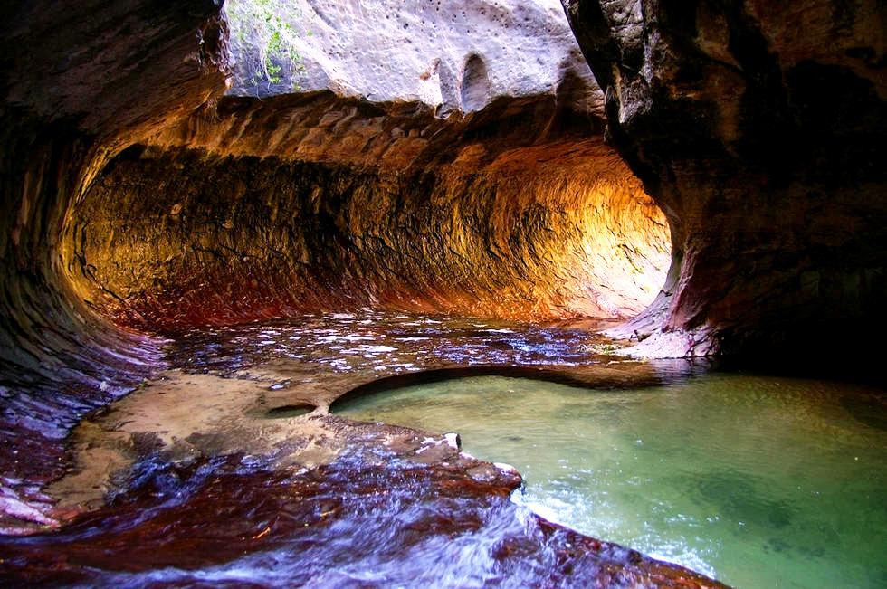 природный туннель
