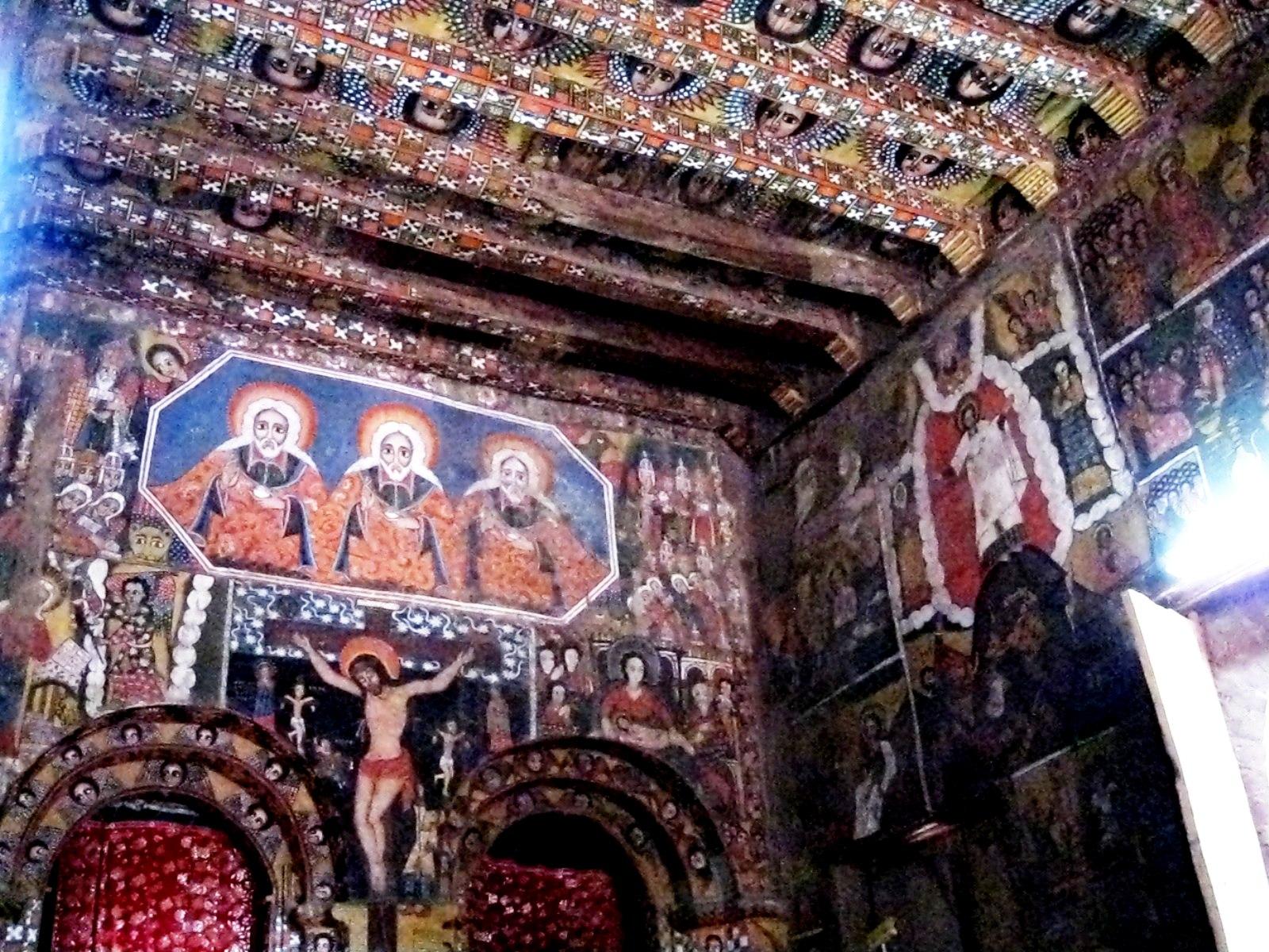 роспись стен в лалибеле