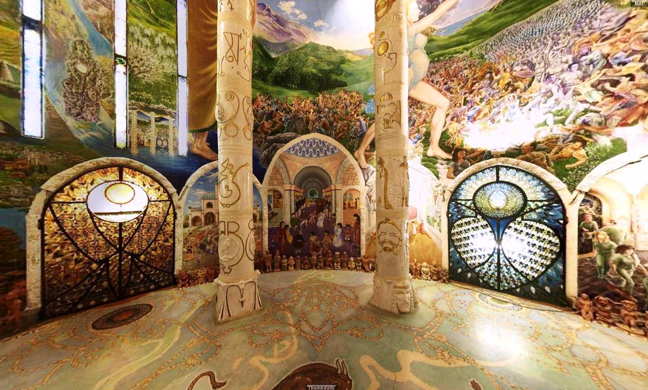 зал подземного храма