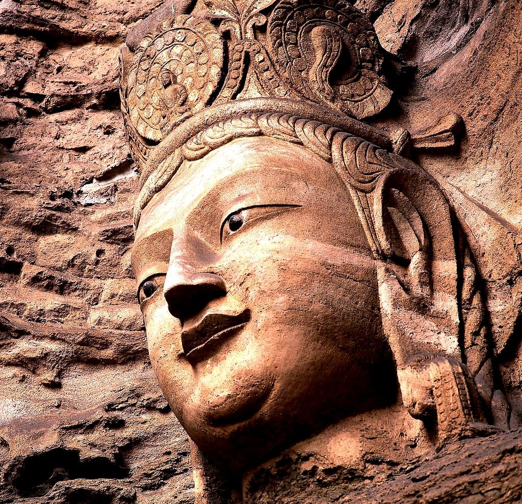 гроты майджишана, будда