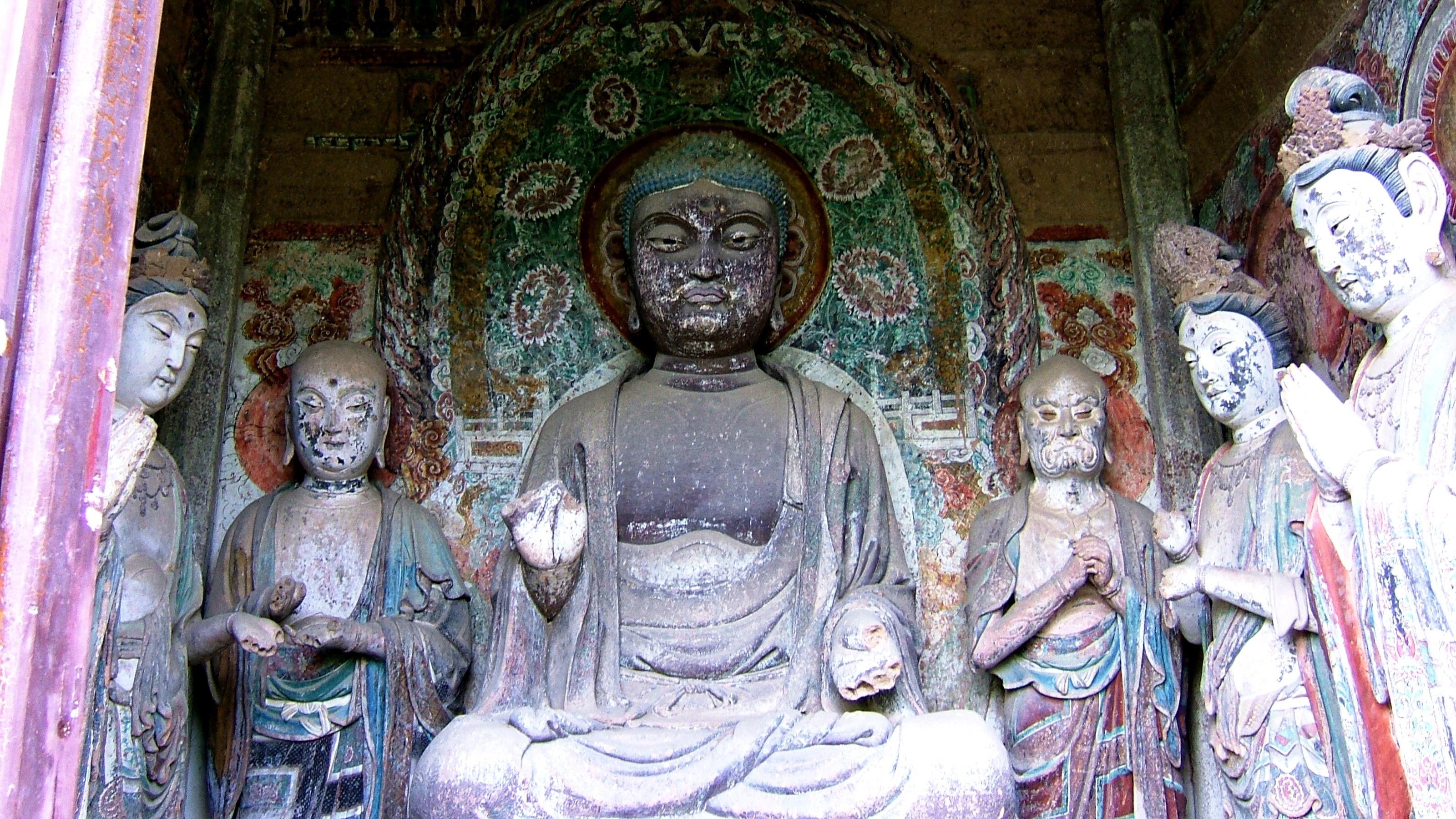 ученики и будда