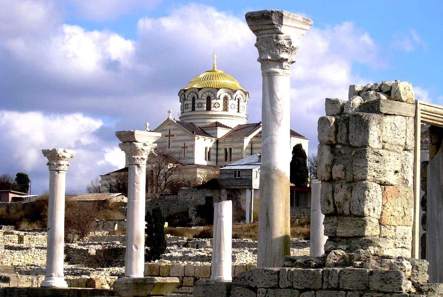херсонес и владимирский собор
