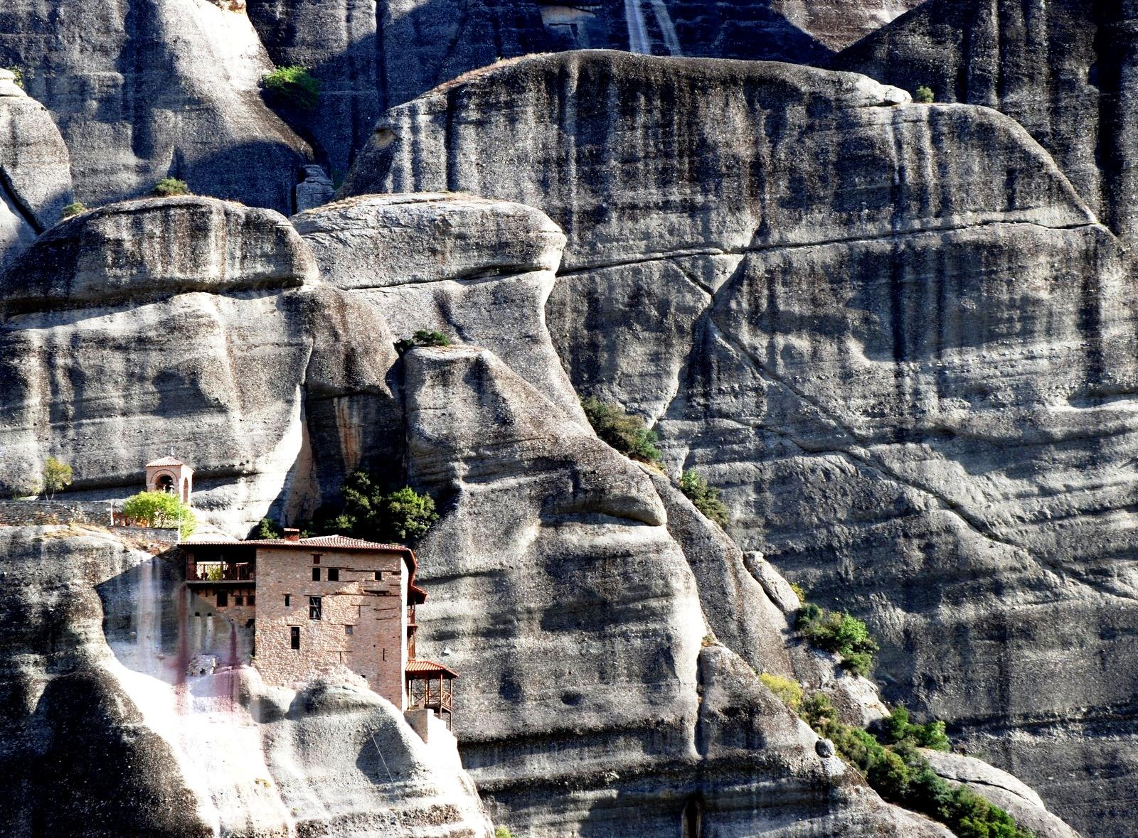 метеоры, монастыри в горах