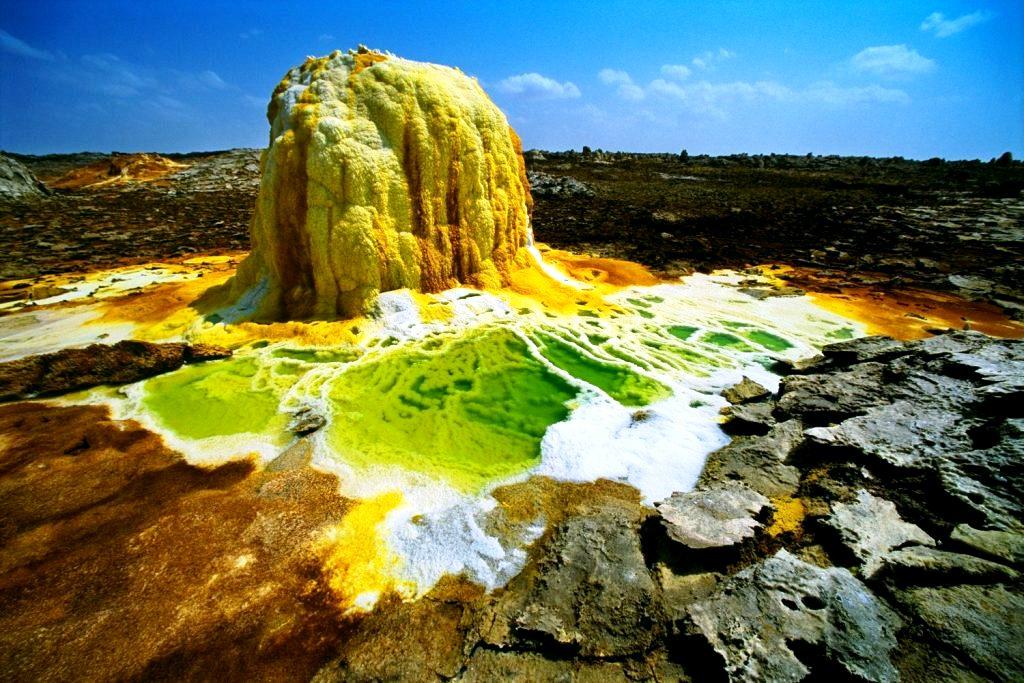 вулканические отложения