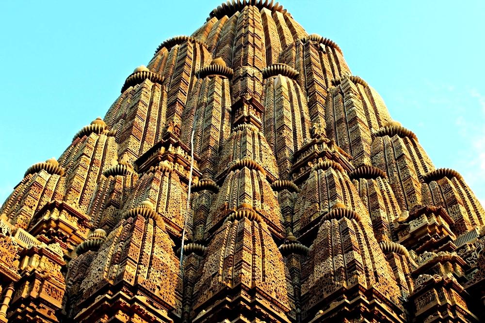 купол храма Кхаджурахо