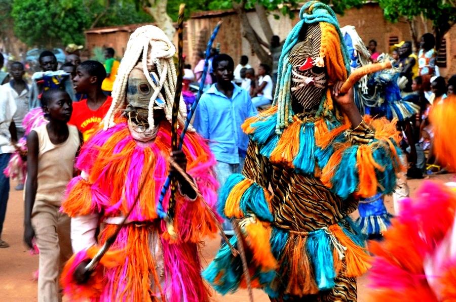 фестиваль масок буркина фасо