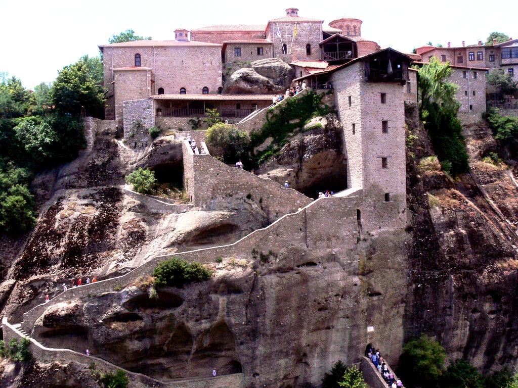 обзор монастыря метеоры