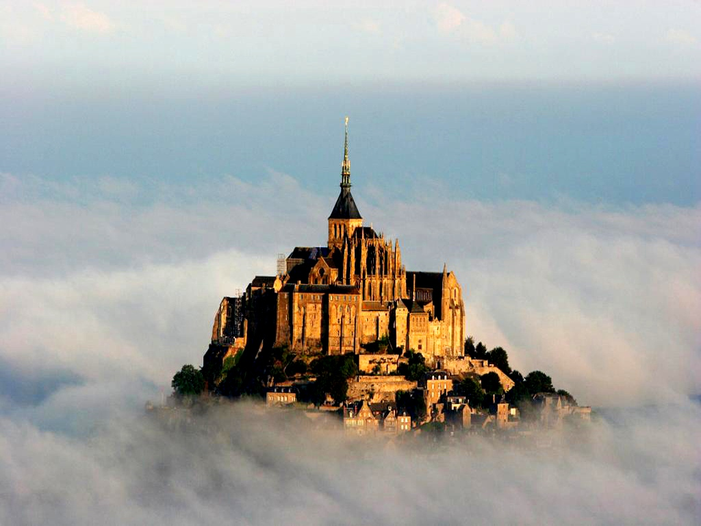 туман над аббатством святого михаила