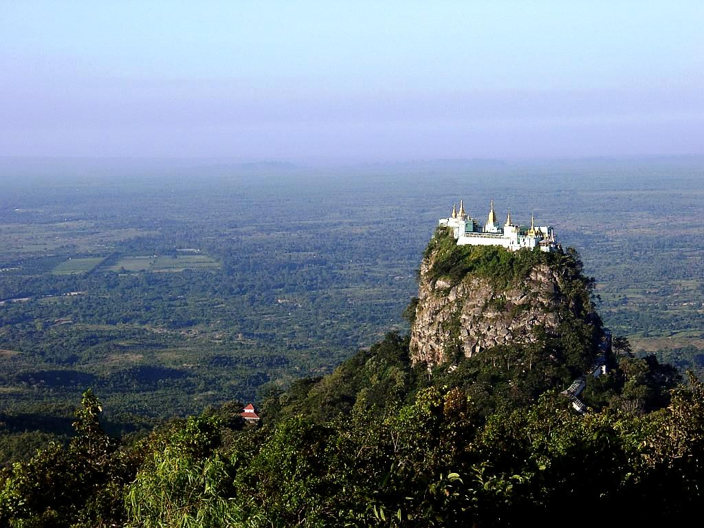 потрясающая панорама горы попа