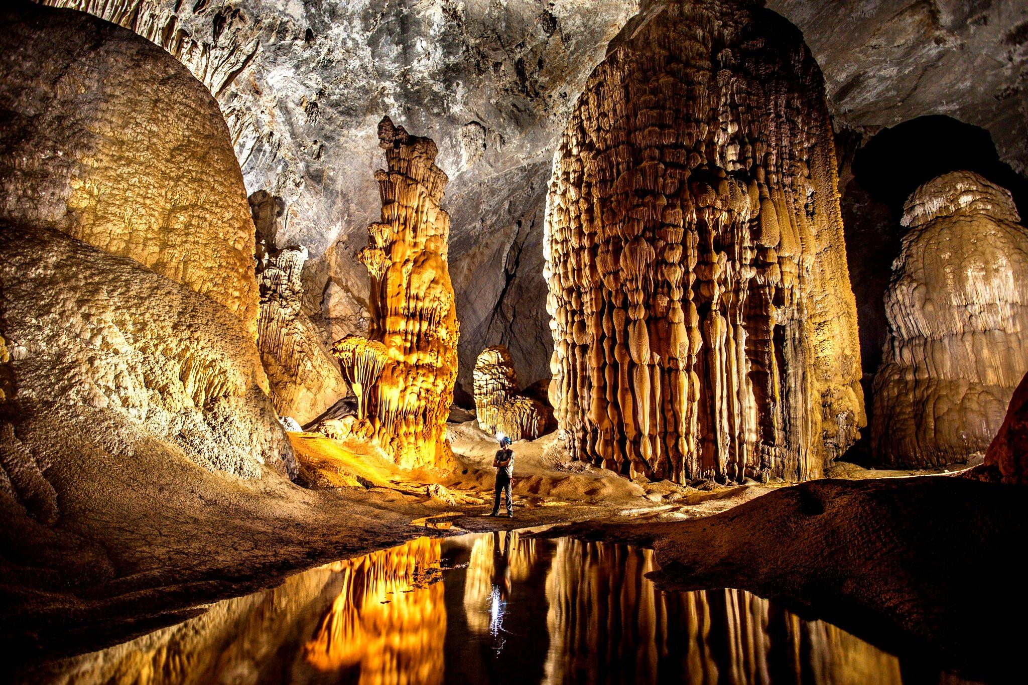 подземные чудеса пещеры шондонг