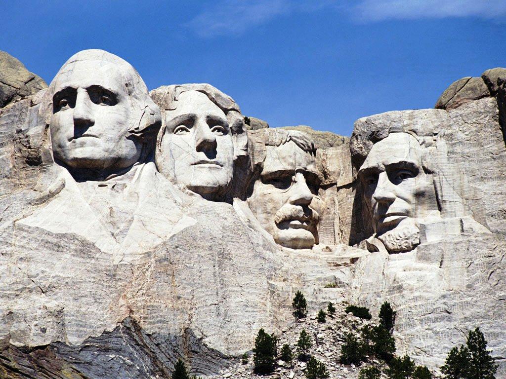 каменные президенты