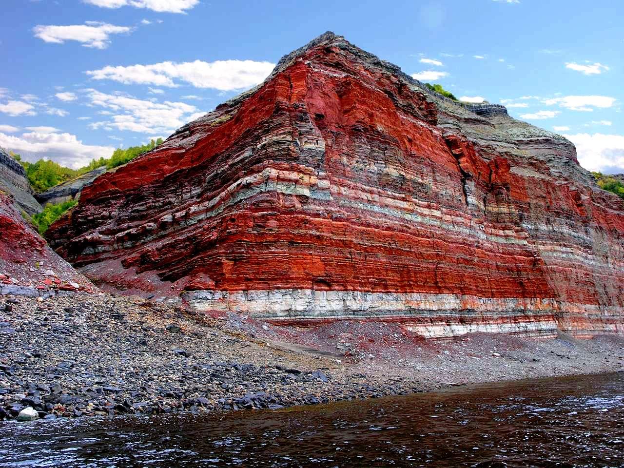 красная гора плато путорана