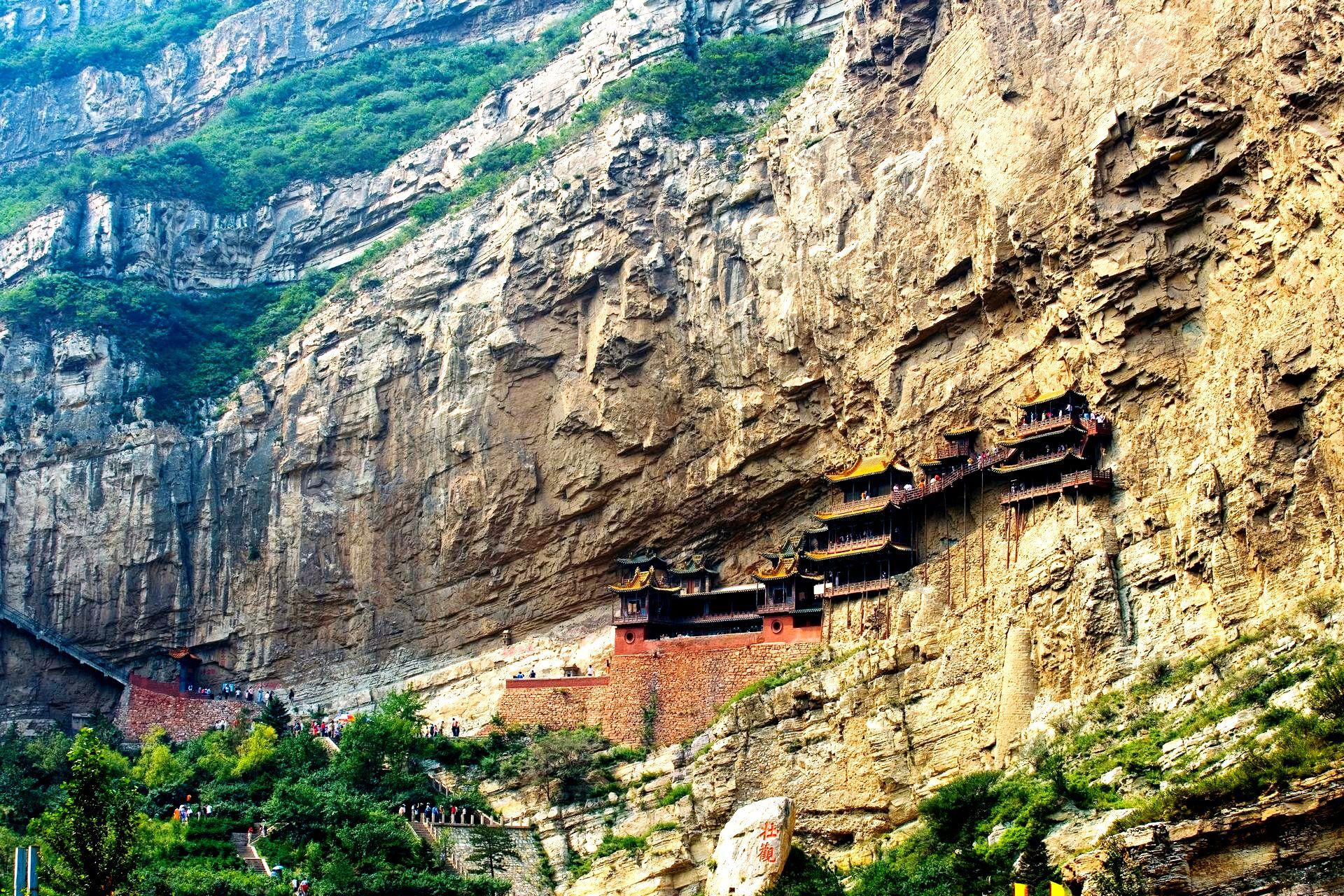 панорама висячего монастыря