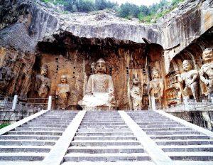 лестница к храму лунмэнь