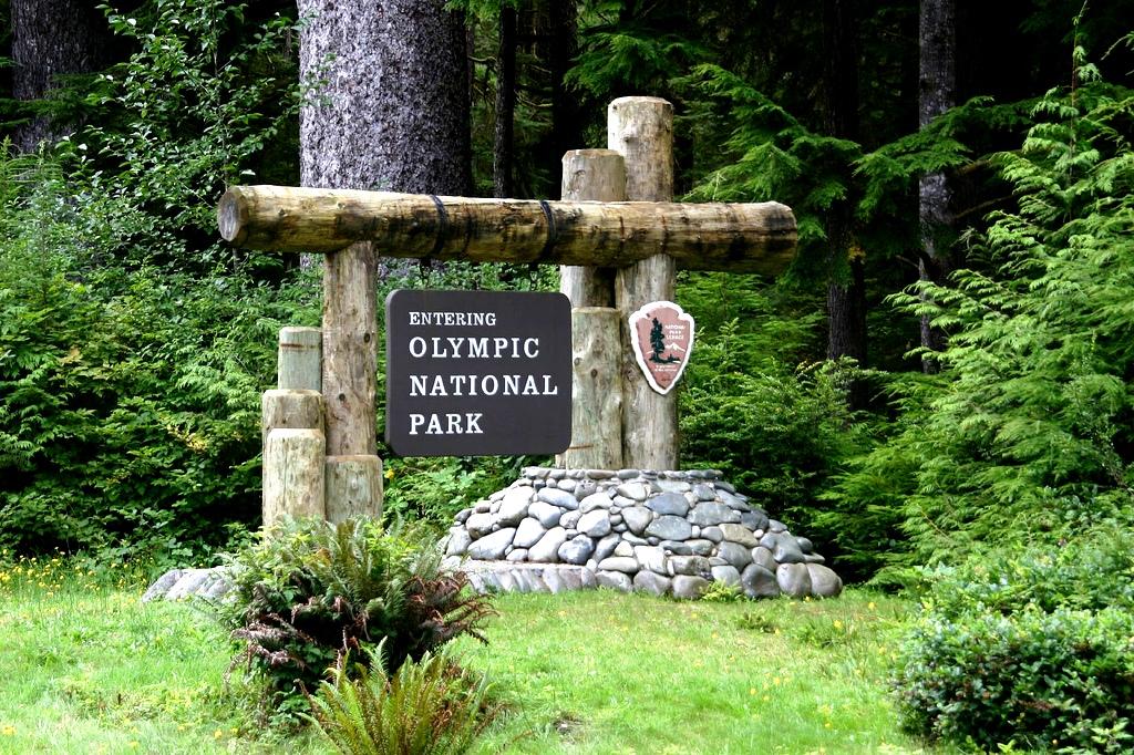 указатель парка Олимпик