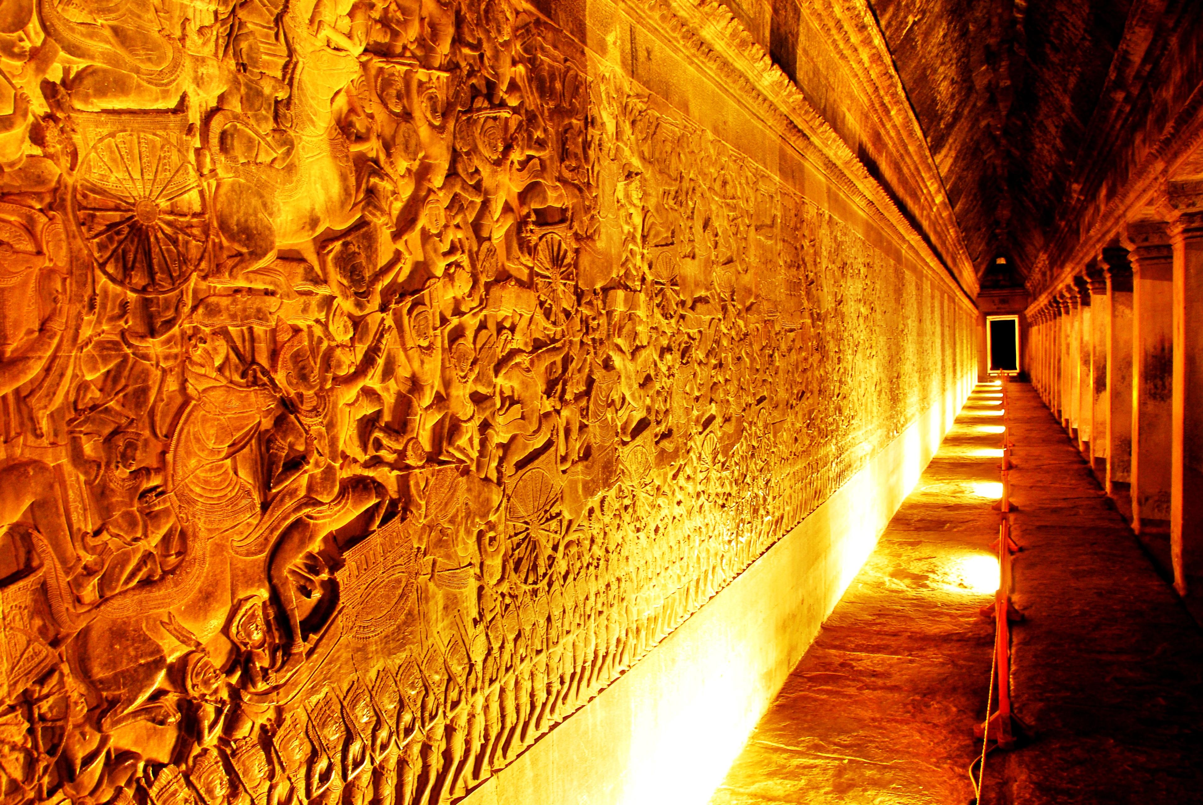 храмовые галереи ангкор вата