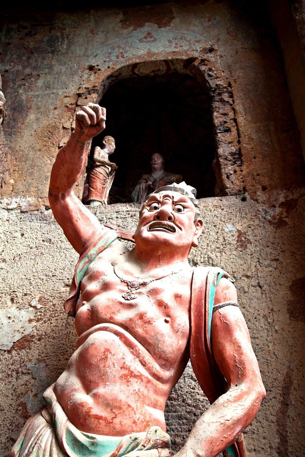 скульптура злобного божества