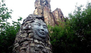 лицо идола у ленских столбов