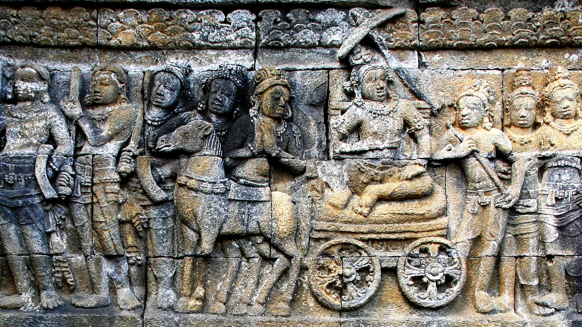 летопись буддизма в камне