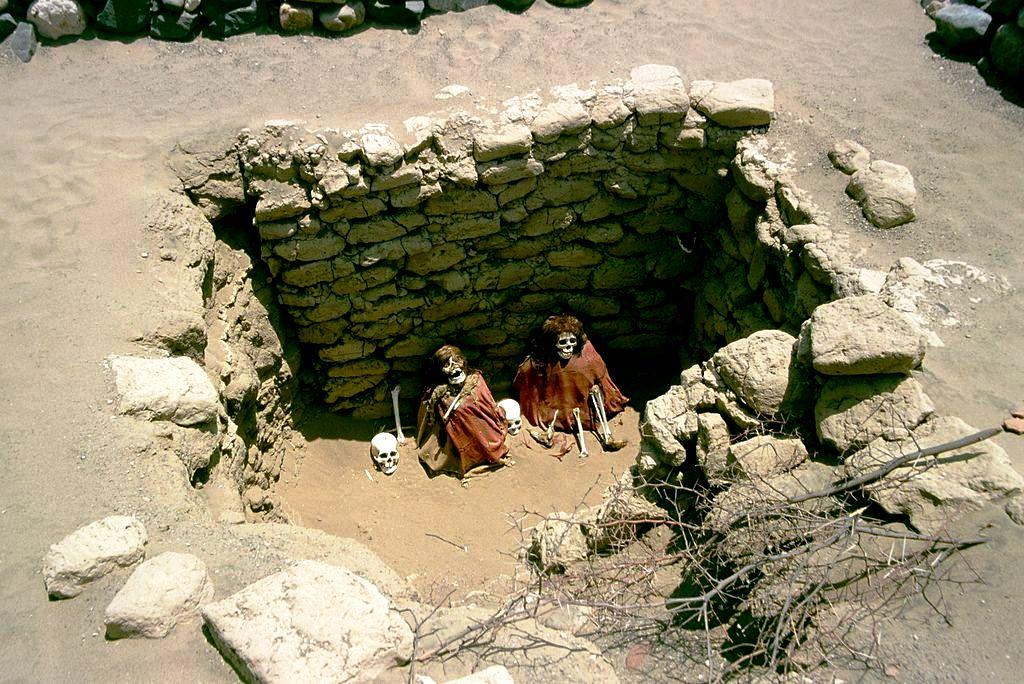 кирпичные могилы чаучильи
