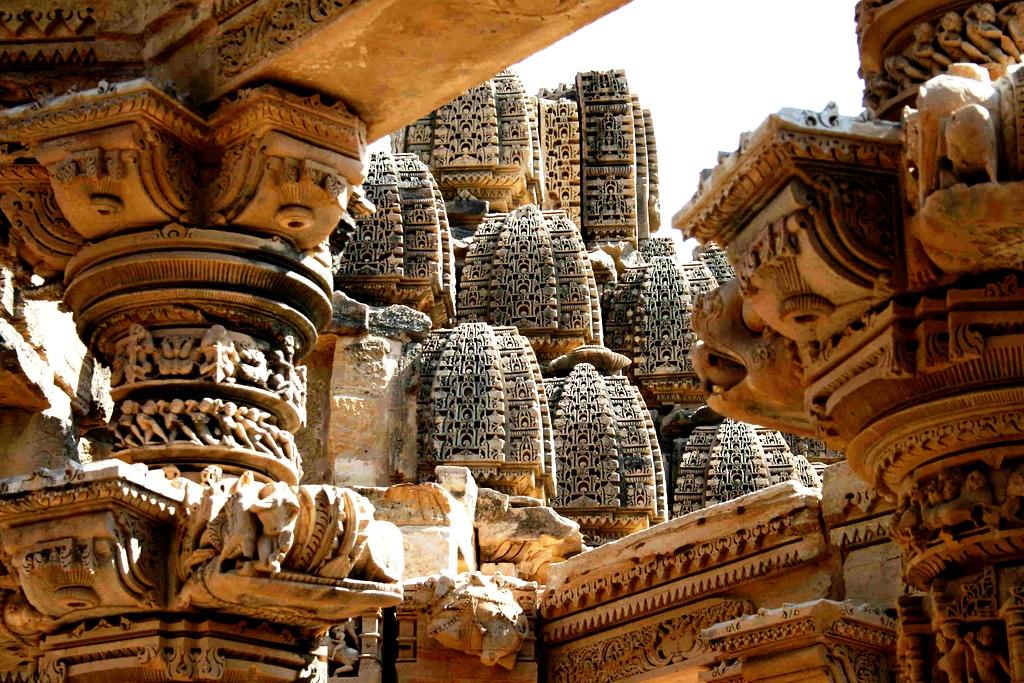 башни Кхаджурахо