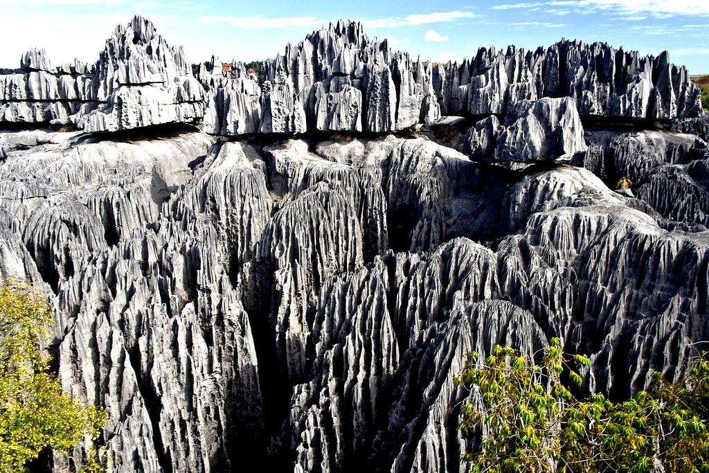горы каменного леса