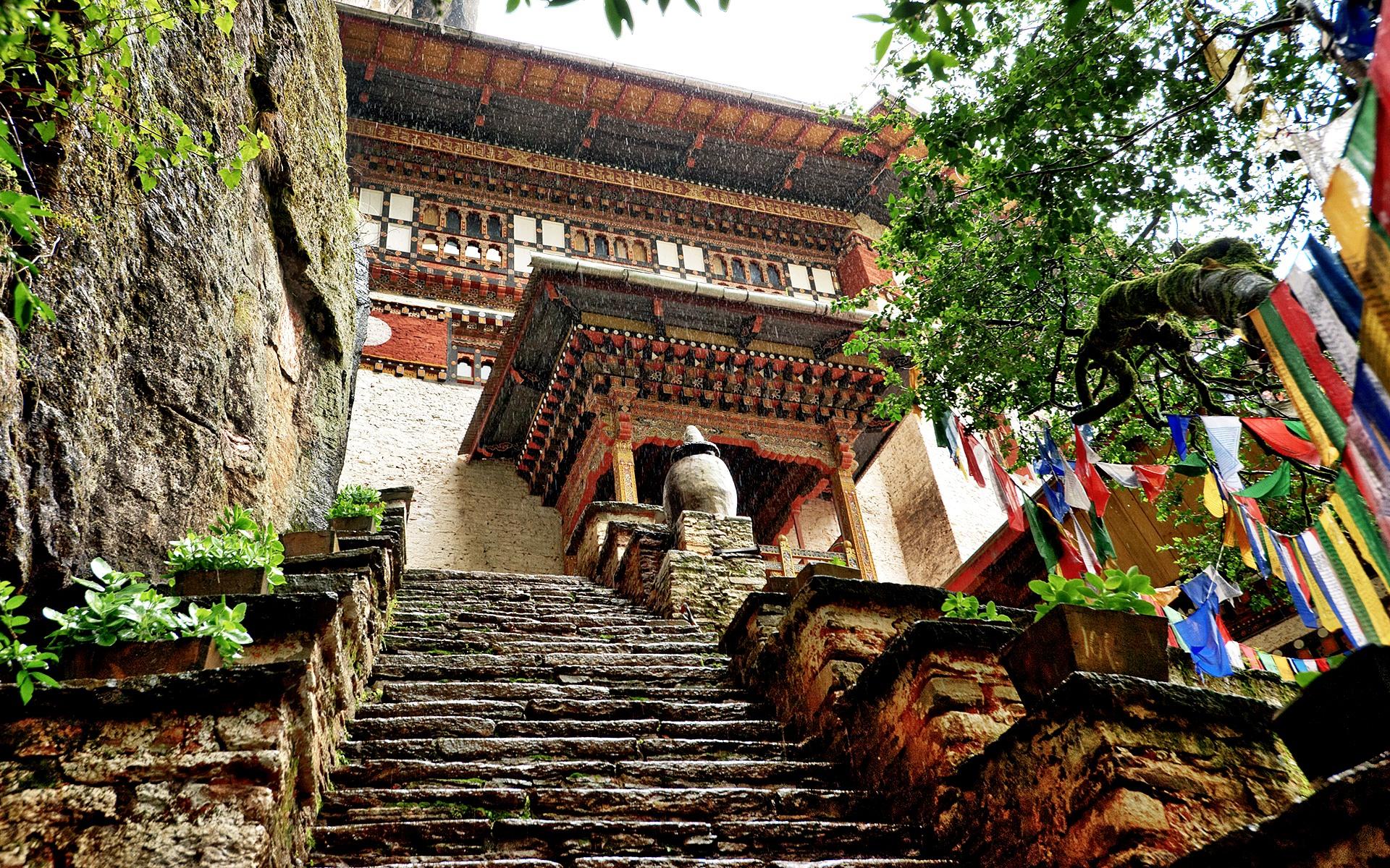 монастырская лестница