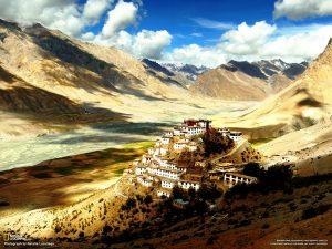 чудесный монастырь ки гомпа