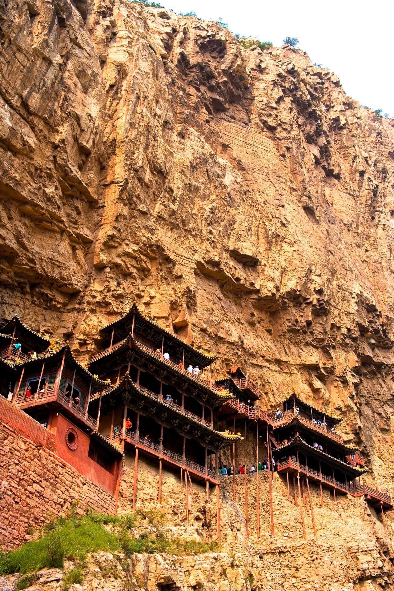 храм сюанькун-сы