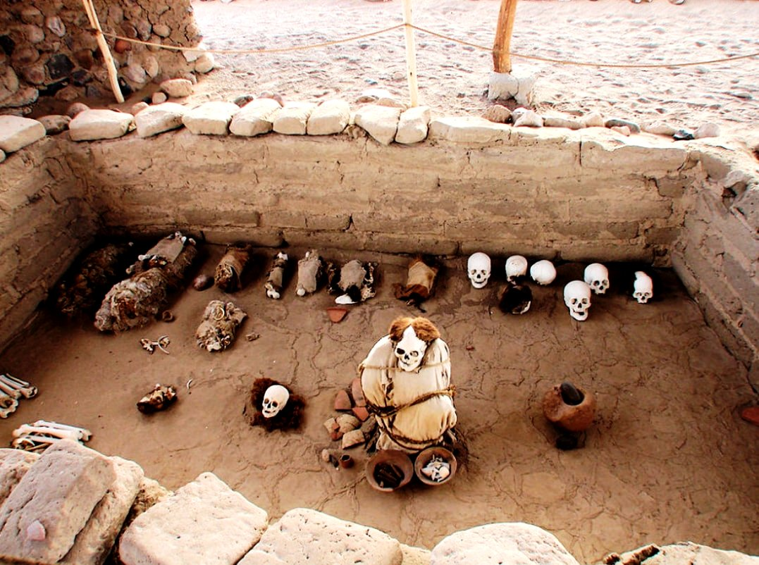 археологические находки чаучильи