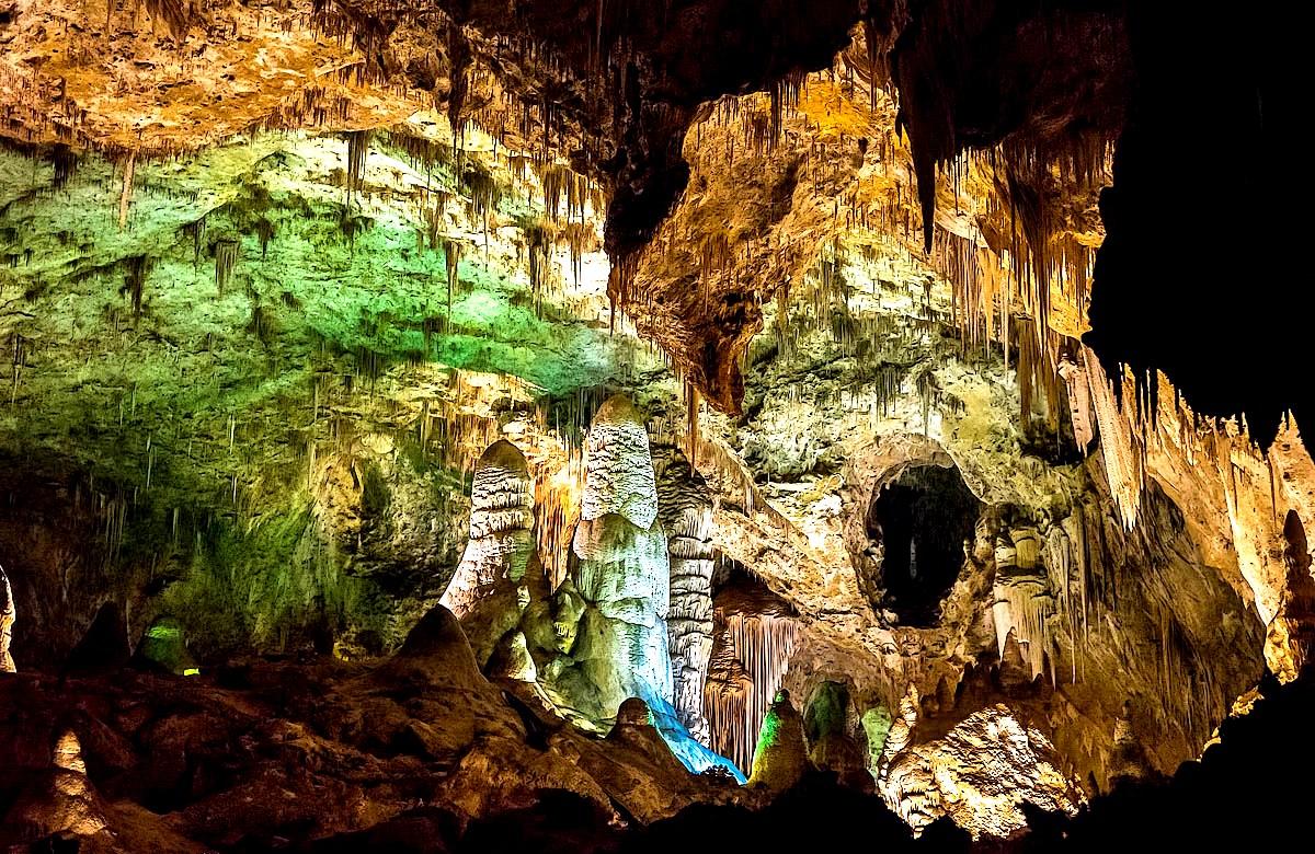 призрачные огни пещер