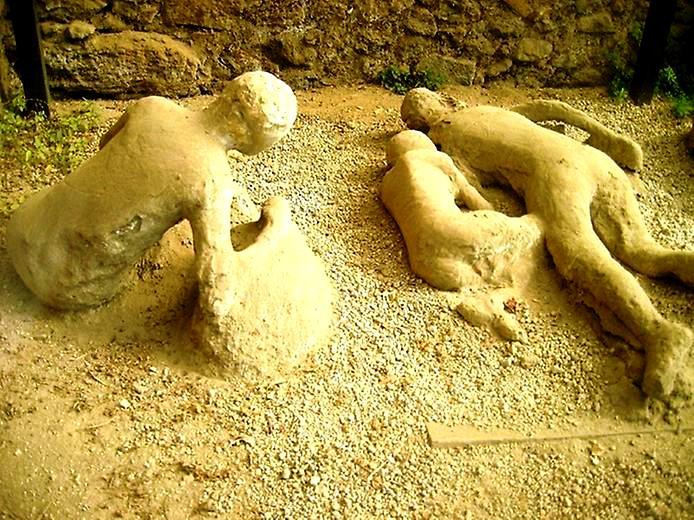 каменные люди помпей