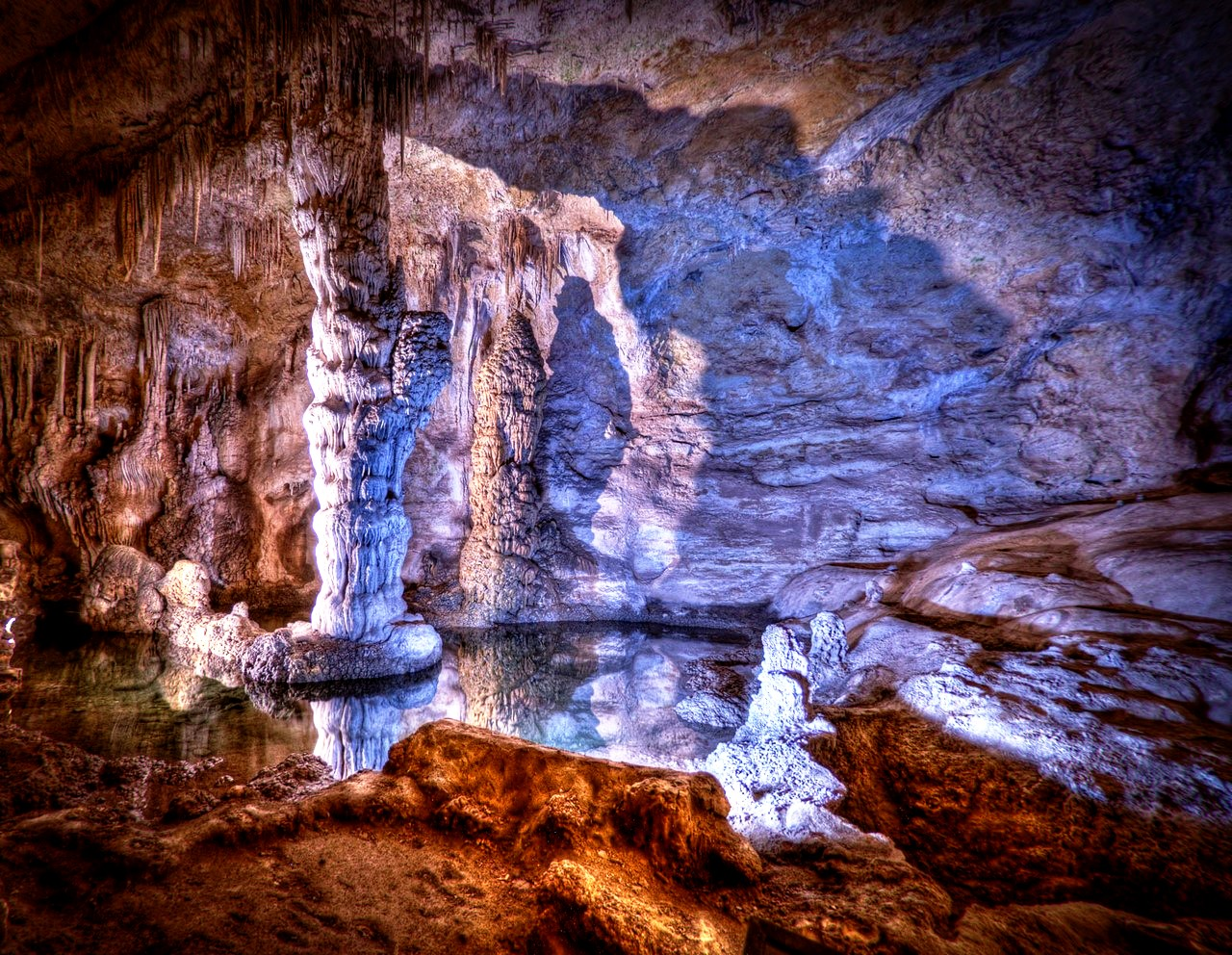 волшебство пещер