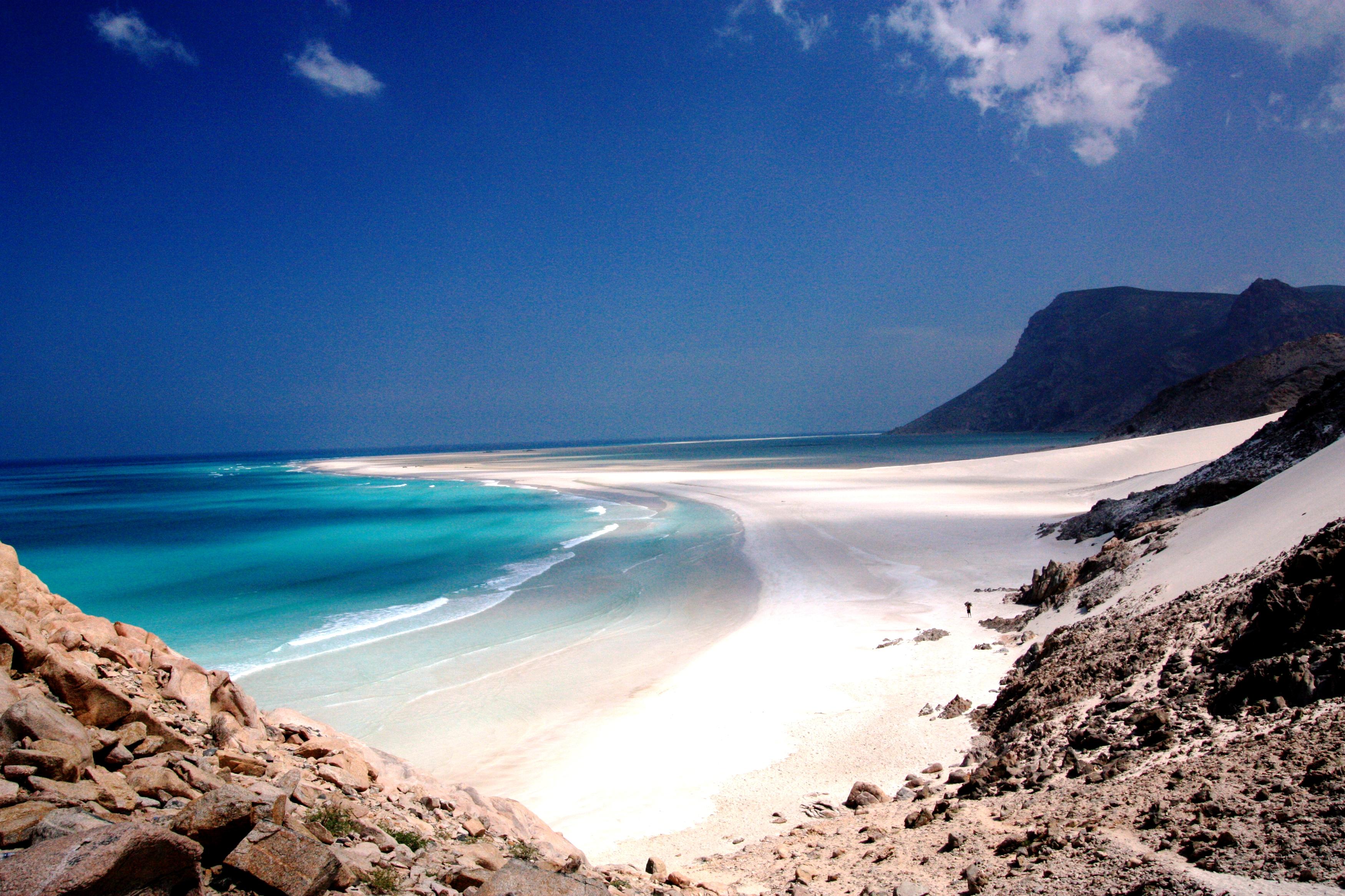 пляж сокотры