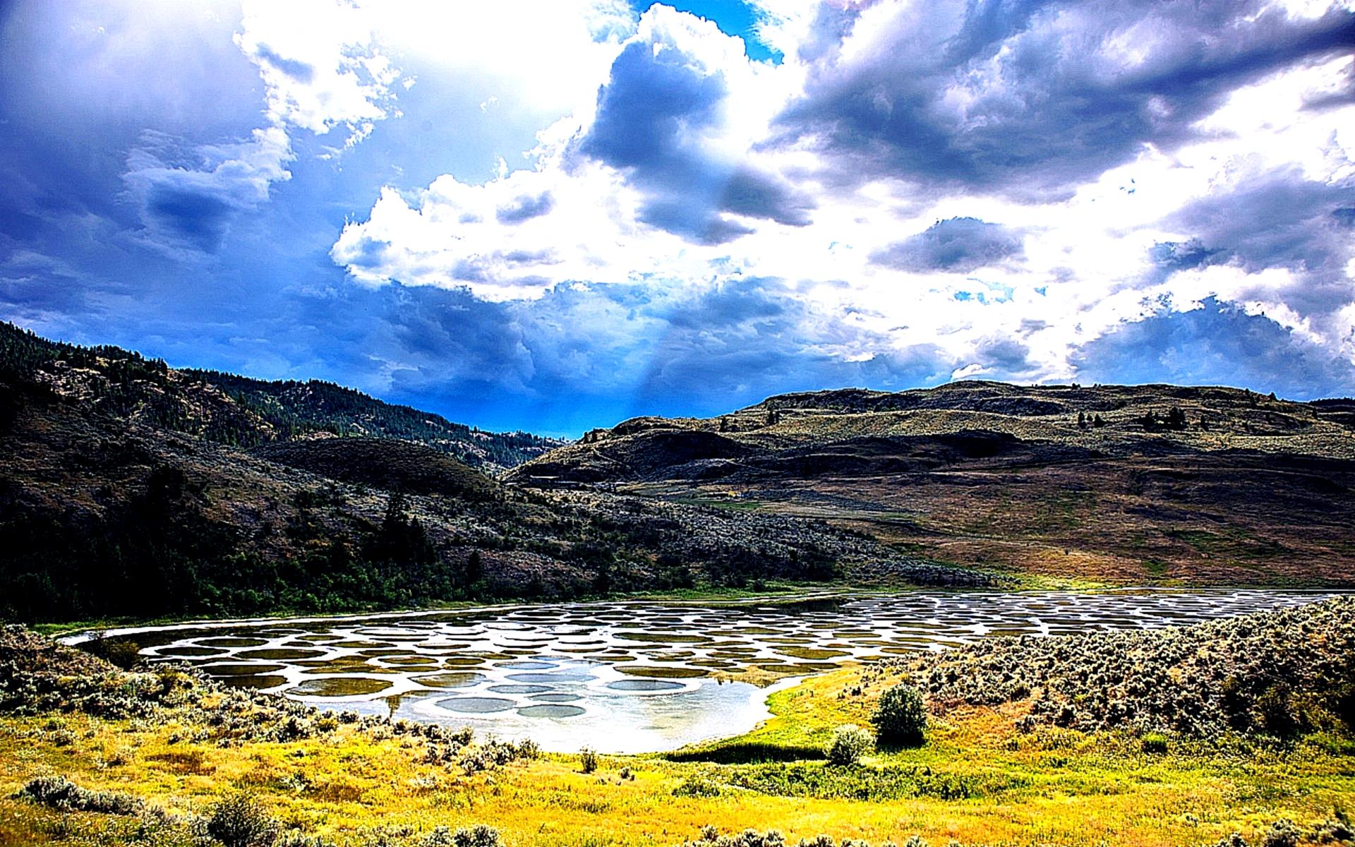 озеро клилук в канаде