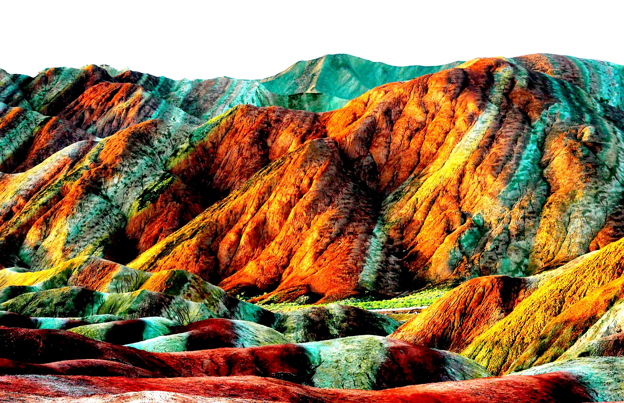 радужные горы