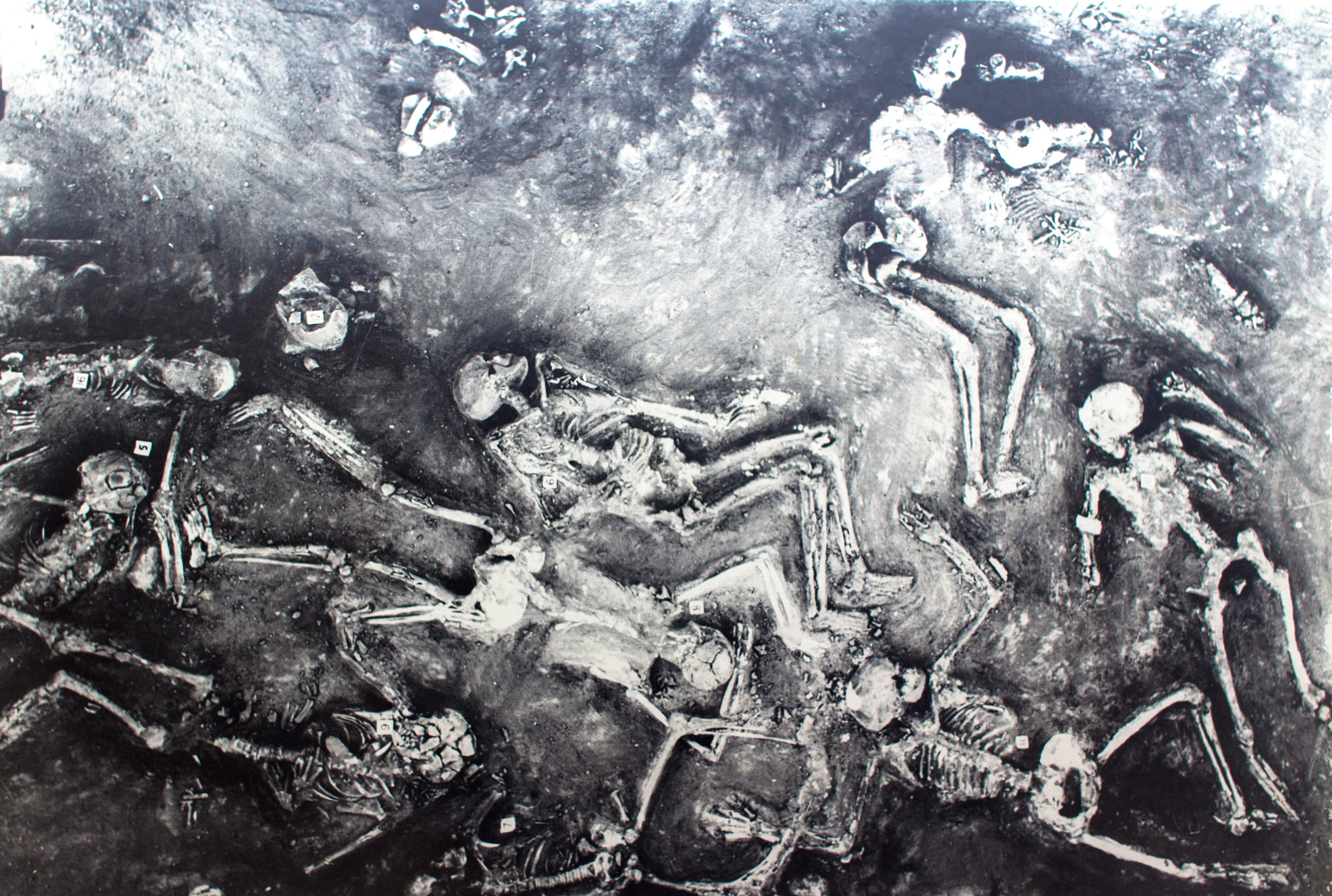 древние скелеты мохенджо-даро
