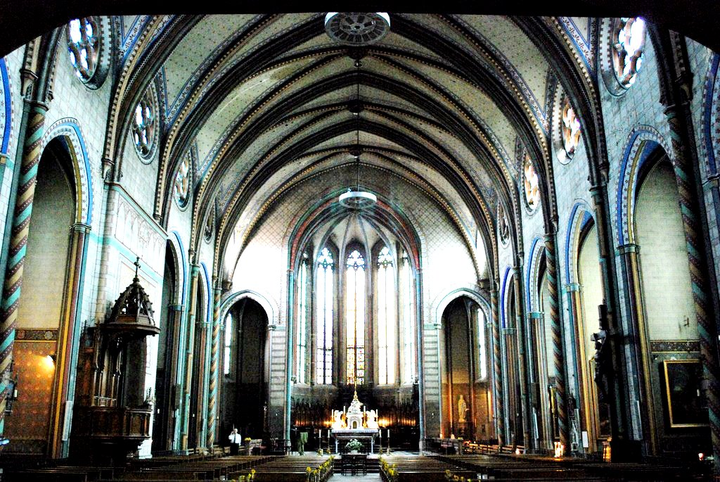 собор в каркасоне