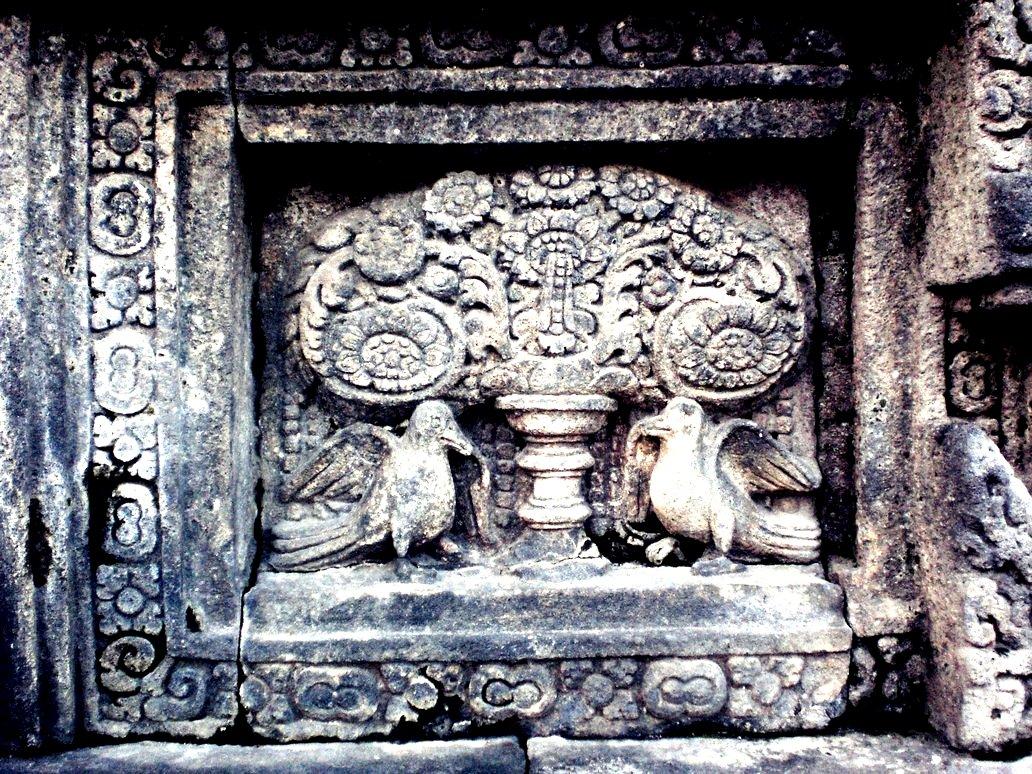 роспись стен в прамбанане