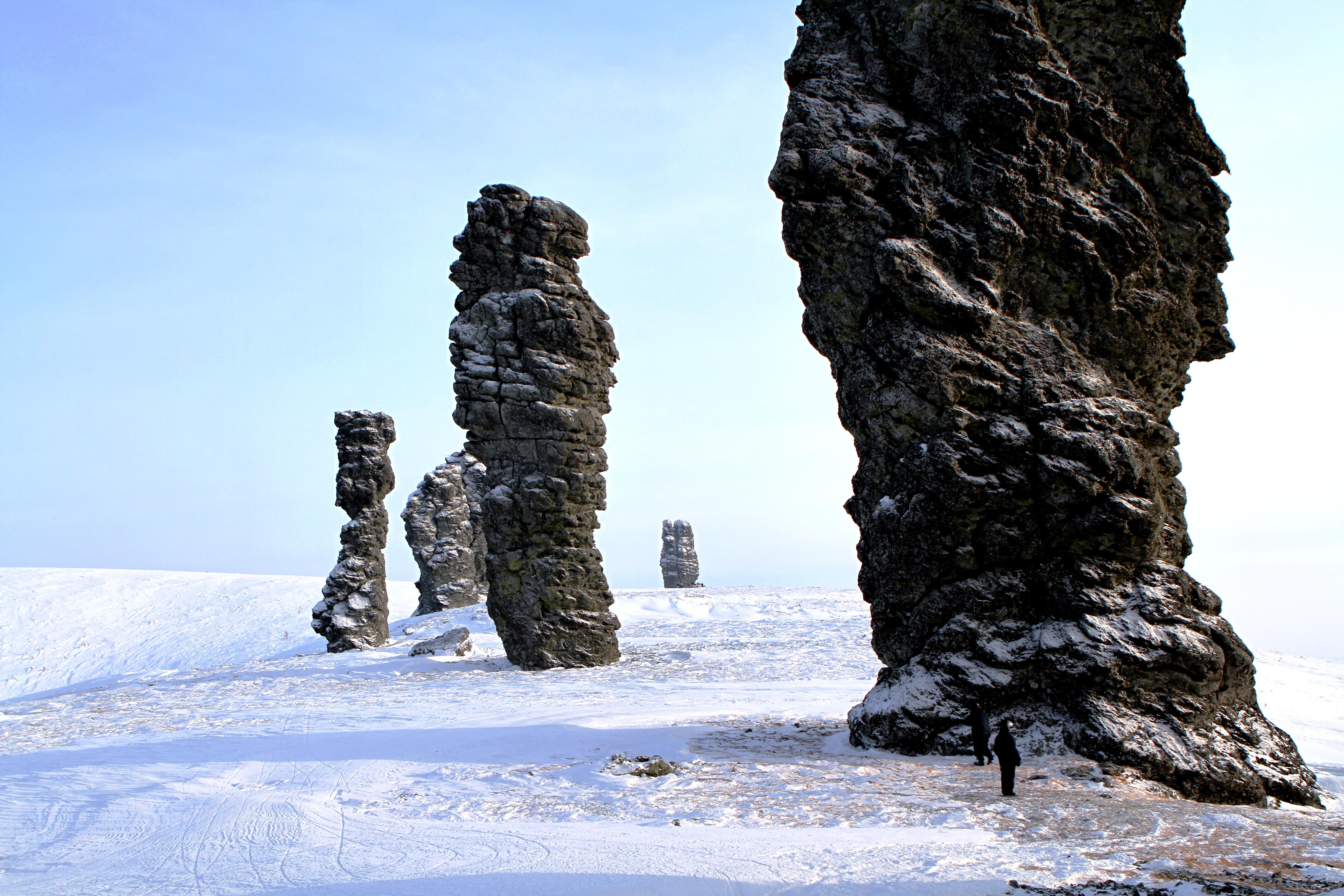 каменные идолы вогулов