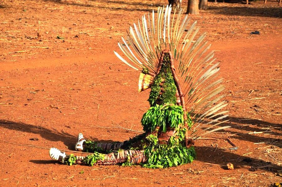 зеленый человечек буркина фасо
