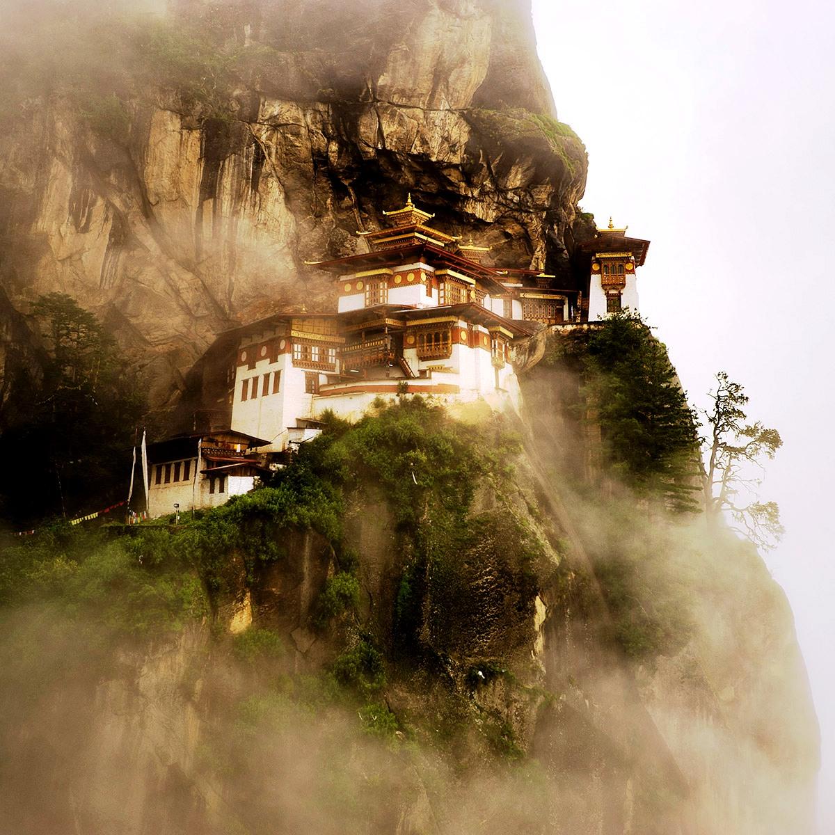 мистический монастырь таксанг