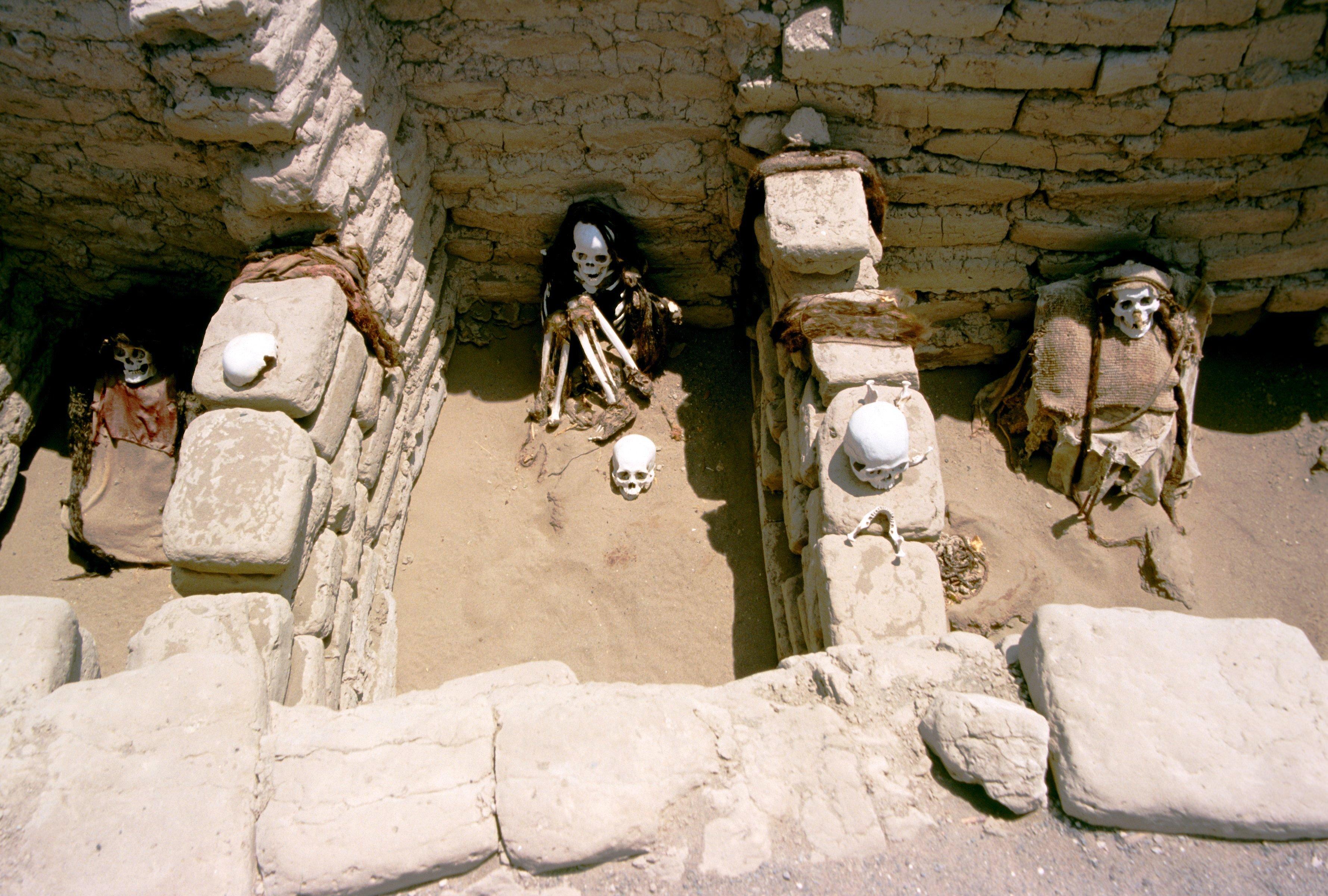 гробницы чаучильи